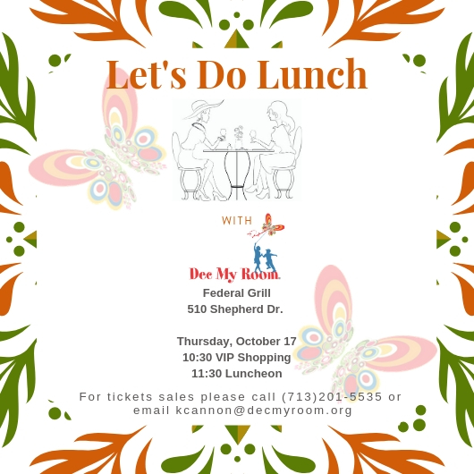 Lets Do Lunch Invite